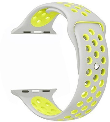 Memore Nike Sport replacement Loop Band for Apple Watch Nike+ Series 1, Series 2, Series 3/42mm L Grey-Volt Smart Watch Strap(Mullti Color)  available at flipkart for Rs.999