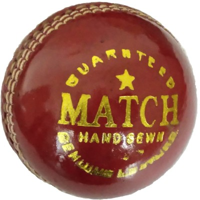 Tima Genuine Leather Cricket Ball  2 Cups , Standard Pack of 1  Red  Cricket Leather Ball   Size: 5 Pack of 1, Red Tima Cricket Balls