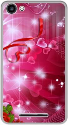 Casotec Back Cover for Micromax Canvas Spark 2 Plus Q350(Multicolor, Silicon, Plastic)