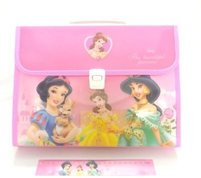 Shopkooky Plastic Harmonium Folder(Set Of 1, Pink)  available at flipkart for Rs.419