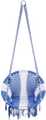 Kaushalendra chair big Nylon Small Swing(Blue)