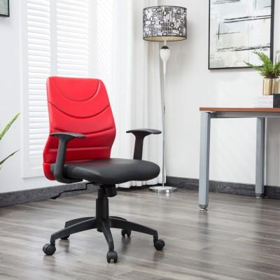 VJ Interior Fabric Office Visitor Chair(Black)