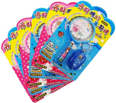 Confidence Children Magnifying Glass Lens Magnifier Science Educational Toys / Reading,Inspection,Exploring( Set of 6)(Multicolor)