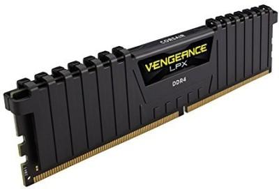 Corsair Vengeance-CMK8GX4M1A2400C16 DDR4 8 GB (Quad Channel) PC (C)(Black)