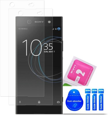Bibossi Tempered Glass Guard for Sony Xperia XA1 Ultra Dual [6.0 Inch] - Pack of 2(Pack of 2)