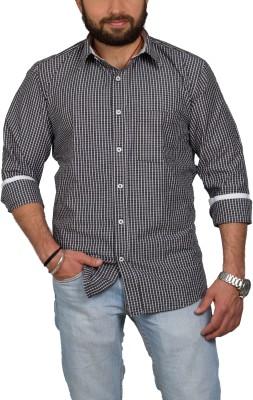 Leebazone Men's Checkered Casual Multicolor Shirt