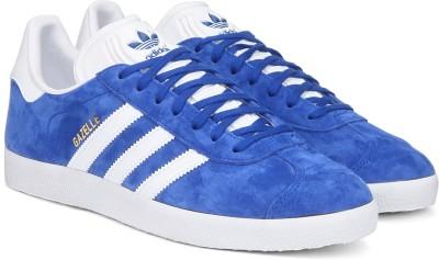 best service f4992 44066 Buy Adidas Originals GAZELLE Sneakers For Men(Blue) on Flipkart   PaisaWapas.com