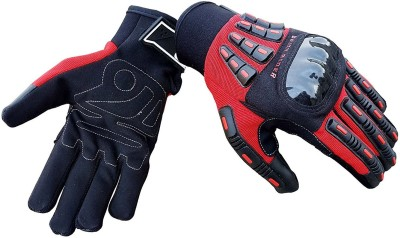 biking brotherhood Riding Glove Red M Riding Gloves (M, Red)  available at flipkart for Rs.1950