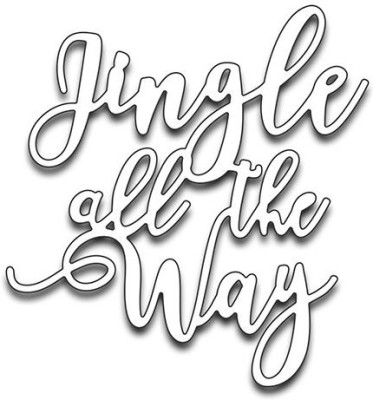Penny Black Creative Dies - Jingle All The Way  available at flipkart for Rs.1477