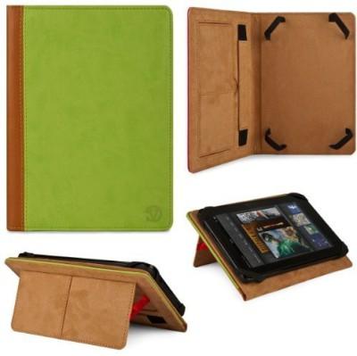 Vangoddy Flip Cover for 7 Inch Tablet/Google Nexus 7/Lenovo Ideapad A1/Samsung Galaxy Tab 7.0/Samsung Galaxy Tab 7.0 Plus/Samsung Galaxy Tab 7.7(Pink, Leather)