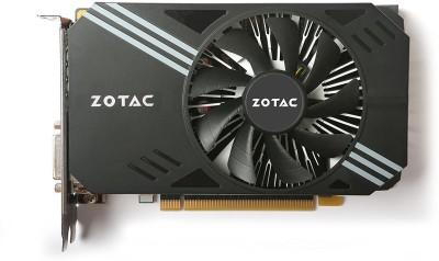 ZOTAC NVIDIA ZT-P10600A-10L 6 GB GDDR5 Graphics Card(Black)