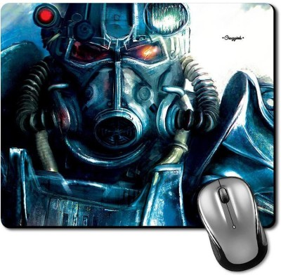 CRAZYINK MPMetal Gas Mask Face Mousepad(Multicolor)  available at flipkart for Rs.189