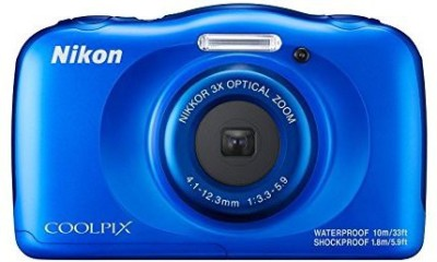 Nikon Coolpix W100 Point and Shoot Camera(13 MP, 3x Optical Zoom, 4x Digital Zoom, Blue)  available at flipkart for Rs.10450