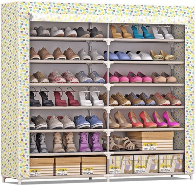FurnCentral Plastic Shoe Stand(14 Shelves)