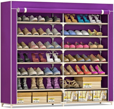 FurnCentral Fabric Shoe Stand(14 Shelves)