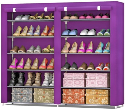 FurnCentral Fabric Shoe Stand(12 Shelves)