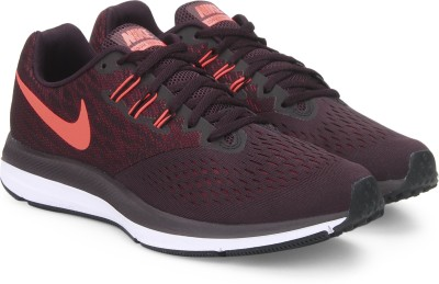 Nike ZOOM WINFLO 4 Running Shoes For Men(Purple) 1