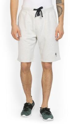 U.S. Polo Assn Solid Men's Beige Board Shorts