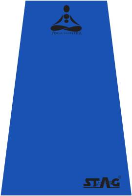 Stag Yoga Mantra Blue 4 mm Yoga, Gymnastic, Exercise & Gym Mat