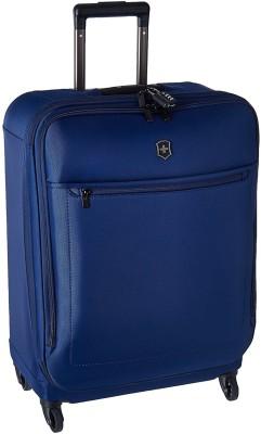 Victorinox Avolve 3.0 Medium Expandable  Check-in Luggage - 26 inch(Blue) at flipkart