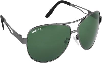 ce89c9eb7839e 33% OFF on Park Avenue Pa-7062-03 Black Aviator Sunglasses on ...