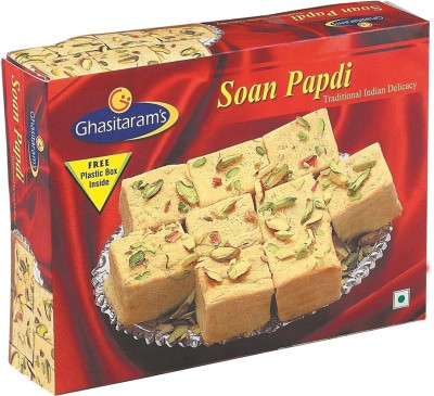 Ghasitaram's Traditional Indian sweets Delicacy of(250 g, Box)  available at flipkart for Rs.85