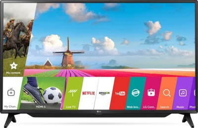 LG 108cm (43 inch) Full HD LED Smart TV(43LJ619V)