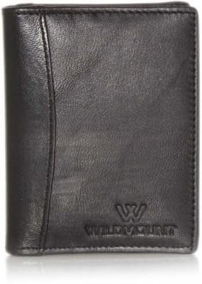Wildmount Men Black Genuine Leather Card Holder