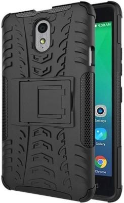 Cover Alive Back Cover for Lenovo VIBE P1m(Black, Shock Proof, Rubber, Plastic)