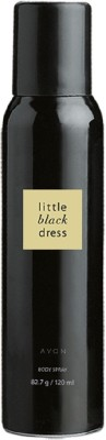 Avon Anew Little Black Dress Unisex Body Spray, 120 ML