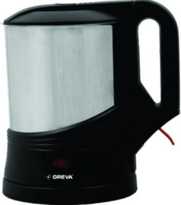 Oreva OEK Electric Kettle(1 L, Silver)