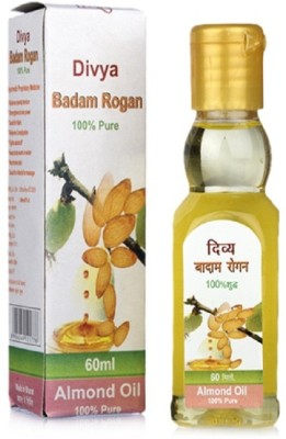 Patanjali Divya Badam Rogan Massage Oil, 60 ml