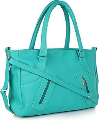 SK NOOR Women Green Shoulder Bag at flipkart