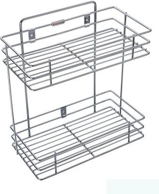Nightstar Kitchen Rack Stainless Steel Kitchen Rack(Silver)