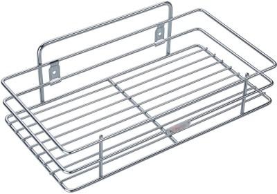 Nightstar Multipurpose Storage Rack Stainless Steel Kitchen Rack(Silver)