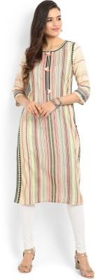 W Striped Women