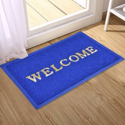 WI International PVC Door Mat Welcome PVC Door & Bath Mat Royal Quality