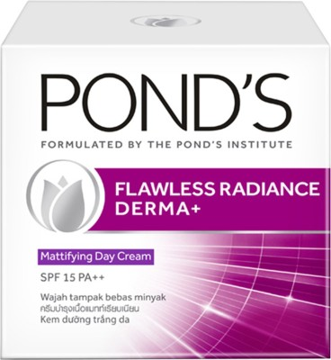 Ponds Flawless Radiance Derma Plus Matifying Day Cream(50 g)