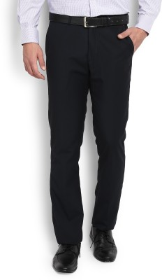 John Miller Slim Fit Men's Dark Blue Trousers