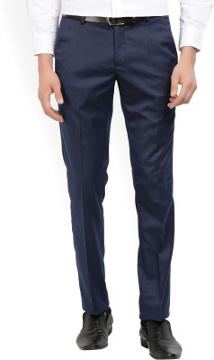 John Miller Regular Fit Men's Dark Blue Trousers
