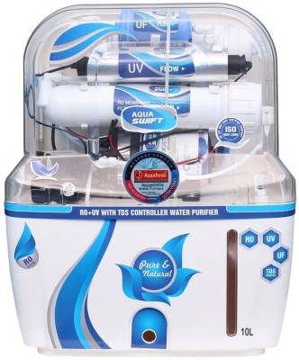 Nexus Aquafresh New 12 RO + UV +UF, RO + UV + UF + TDS Water Purifier(White)  available at flipkart for Rs.5699
