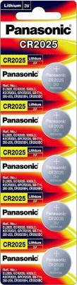 Panasonic cr 2025 5 Pcs  Camera Battery Charger(White)