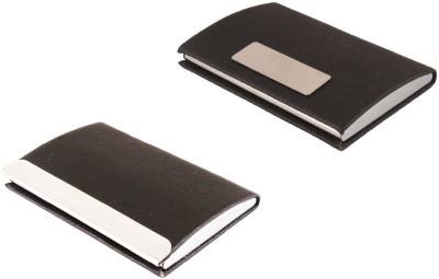 iHomes RFID ATM / Visiting /Credit Card Holder, PAN/ Business / Debit Card Case Holder,206-A+201-A, ID Card Holder 10 Card Holder(Set of 2, Multicolor)