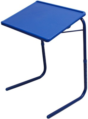 EasyHome Tablemate Adjustable Plastic Portable Laptop Table Multipurpose Study Table Blue Changing Table