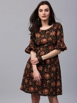 Aks Women's Maxi Black Dress
