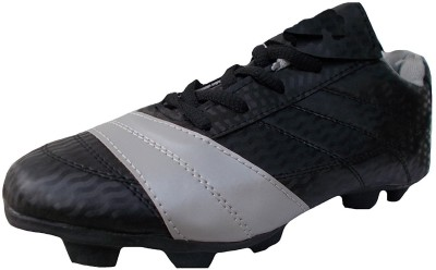 Ovolo Nitro Black Football Shoes For Men(Black)