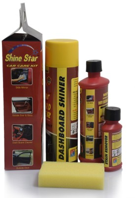 Sky Marketings Liquid Car Polish for Windscreen, Leather, Tyres, Dashboard, Metal Parts, Headlight(500 ml)