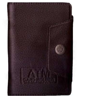 Classic Trend 15 Card Holder(Set of 1, Brown, Black)