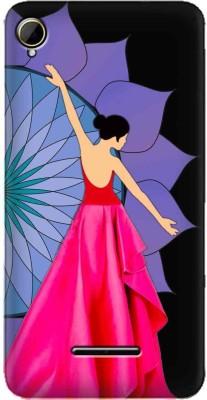 Zapcase Back Cover for Intex Aqua Power Plus(Multicolor, Plastic)