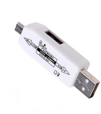 Eyuvaa Micro USB OTG Smart Connector Card Reader White, Black